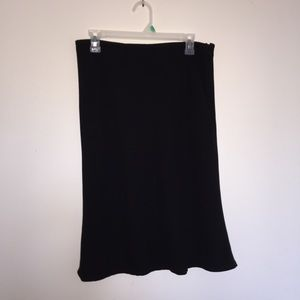Michele 14 skirt polyester lined, side zipper.